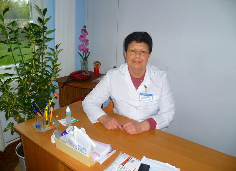 Заведующая Малечской БСУ — Стребкович Мария Матвеевна
